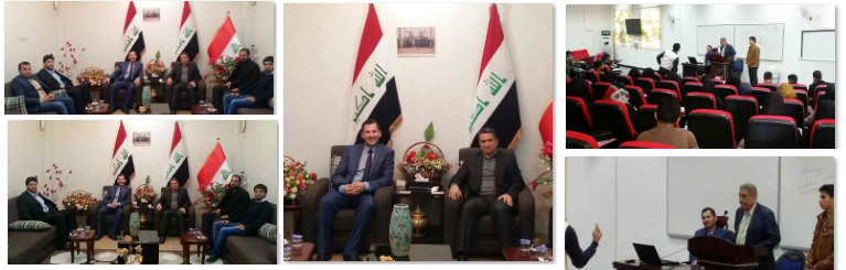 Meeting Mr. Adnan Zorfi President of Najaf ALASHRAF Province